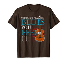 Load image into Gallery viewer, Blues Music T-Shirt Music Band Lover Guitar Teacher Tee