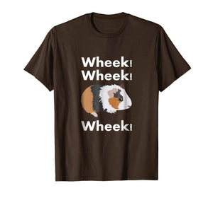 Cute & Funny Wheek - Guinea Pig Owner / Cavy Lover T-Shirt