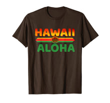 Load image into Gallery viewer, Aloha Hawaii T-shirt Graphic Mahalo Tee Shirt Aloha T shirt