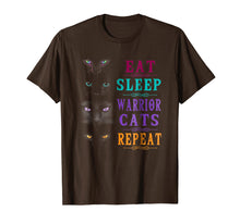 Load image into Gallery viewer, Eat Sleep Warrior Cats Repeat TShirt