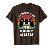 Load image into Gallery viewer, Promoted To daddy Shirts Leveling up to daddy 2019