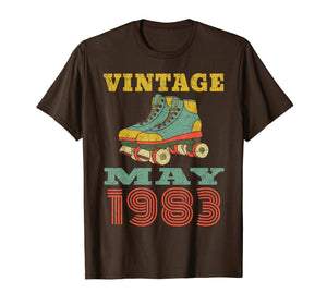 1983 Birthday Gifts May 1983 T-Shirt 36 Years Old Shirt