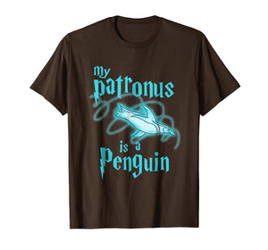 My Patronus Is A Penguin Cute Funny Animal Lover T-Shirt