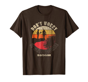Don't Worry It Gets Worse SSDGM Retro T-Shirt