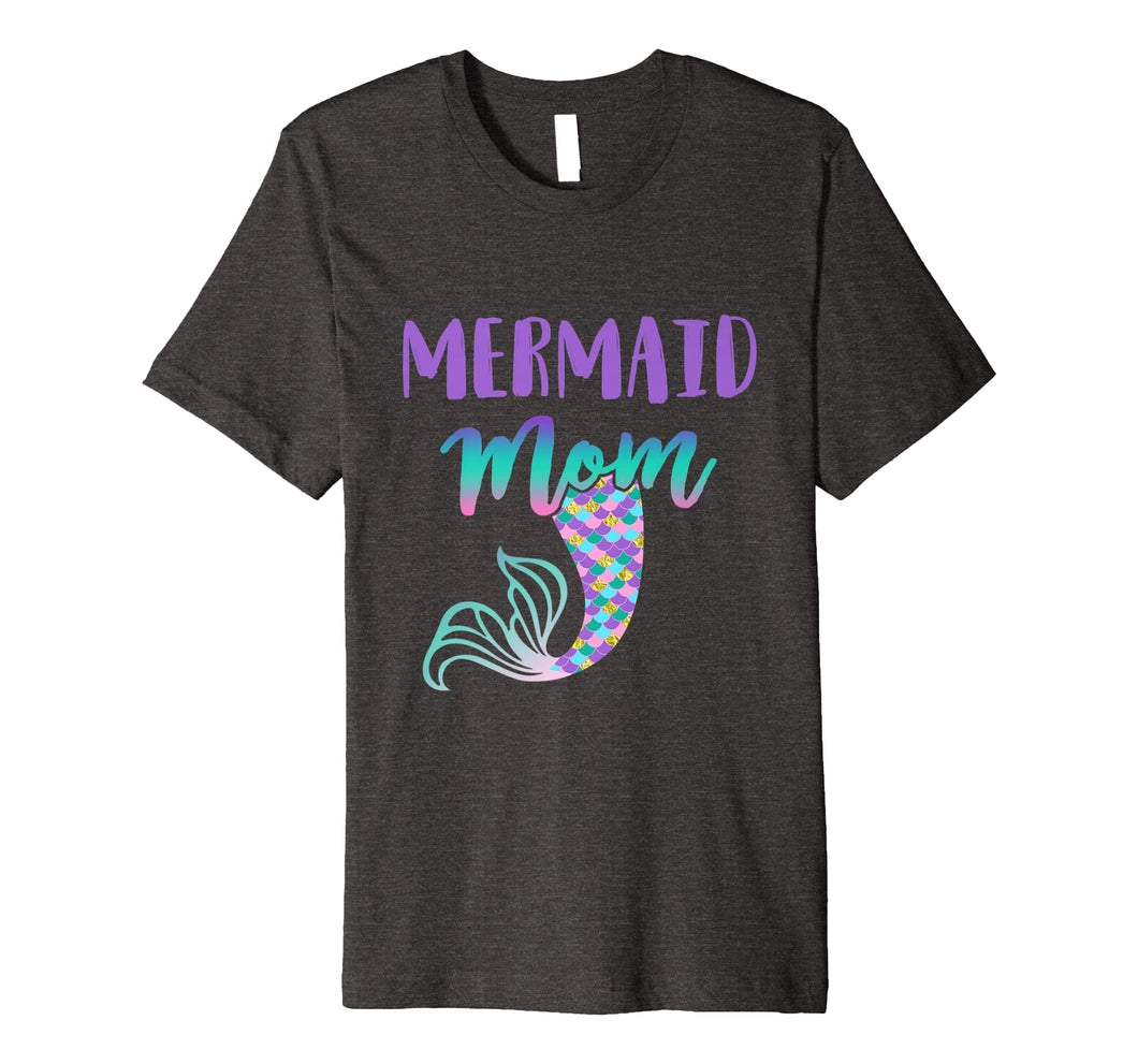 Mermaid Mom Mermaid Birthday Shirt Tee T-Shirt