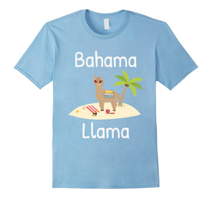 Cute and funny Llama vacation t-shirt for the whole family