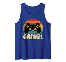 Load image into Gallery viewer, Vintage Retro Gamer Video Game Player Boys Teens Men Gift Tank Top