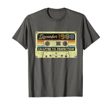 Load image into Gallery viewer, Vintage December 1988 31st birthday Gifts 70s Retro Cassette T-Shirt