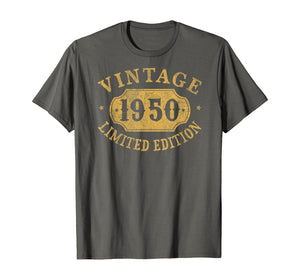 1950 70 years old 70th Birthday, Anniversary Gift Limited T-Shirt-602825