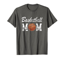 Load image into Gallery viewer, Basketball Mom Cute Novelty Distressed T-Shirt