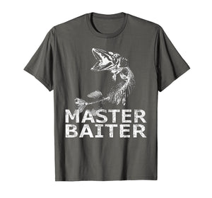 Pike Fishing T-Shirt Funny Fisherman Musky Bait Master Gifts