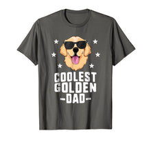 Load image into Gallery viewer, Coolest Golden Dad T-Shirt for Men Retriever New Dog Owner
