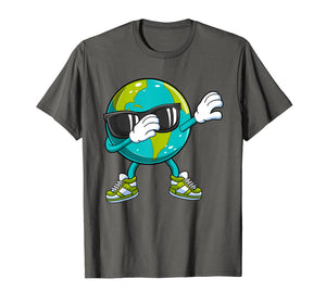 Dabbing Earth Day T Shirt Kids Boys Girls Dab Dance Gift