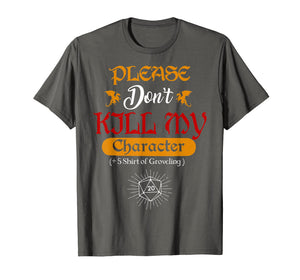 +5 Shirt of Groveling DND T-Shirt - Funny Tabletop RPG Tee