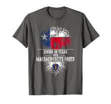Load image into Gallery viewer, Texas Home Massachusetts Roots State Tree Flag Shirt Gift
