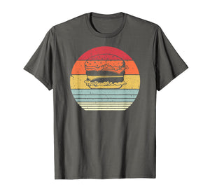 Burger Shirt. Retro Style Cheeseburger T-Shirt