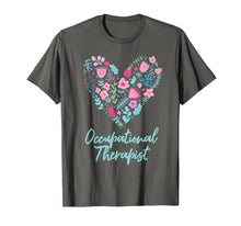 Load image into Gallery viewer, Cute Love occupational Therapist T-shirt OT Flowers Gift Tee