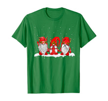 Load image into Gallery viewer, Three Nordic Gnomes Winter Christmas Swedish Elves T-Shirt