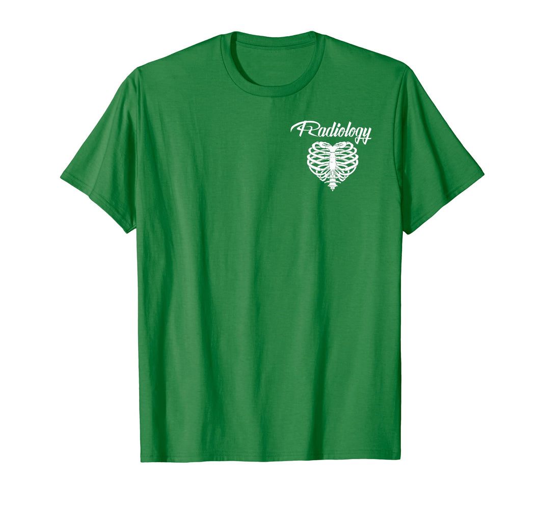 Rad Tech's Have Big Hearts, Radiology Tech Ribs T-Shirt