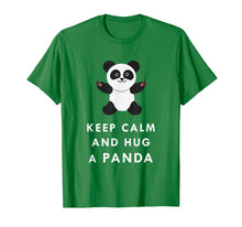 Load image into Gallery viewer, Keep Calm And Hug Cute Adorable Panda Baby Bear T Shirt