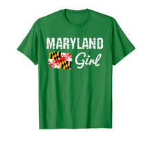 Load image into Gallery viewer, Maryland Flag Shirts Maryland Girl T-Shirt