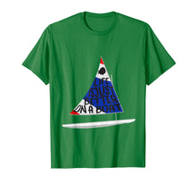 Load image into Gallery viewer, Life Is Just Better Sunfish Sailboat USA Colors Sailing Tee