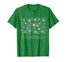 Load image into Gallery viewer, Blockchain Cryptocurrency T-shirt BitCoin Crypto BTC Gift