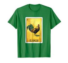 Load image into Gallery viewer, El Gallo Loteria Shirt Mexican Rooster Loteria Card T Shirt