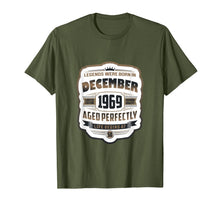 Load image into Gallery viewer, Vintage December Shirt 1969 Birthday Gift For 50 Yrs Old T-Shirt