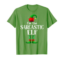 Load image into Gallery viewer, I'm The SARCASTIC Elf Matching Family Pajama Christmas Gift T-Shirt
