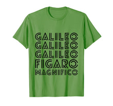 Load image into Gallery viewer, Galileo Galileo Galileo Figaro Magnifico Funny Graphic Tee