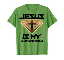 Load image into Gallery viewer, Jesus Is My Superhero Shirt | Cute Powerful Christian Gift