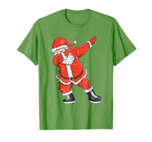 Load image into Gallery viewer, Dabbing Santa T-Shirt - Funny Santa Claus Christmas Tshirt