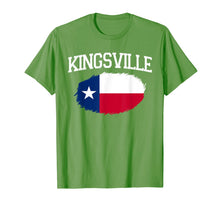 Load image into Gallery viewer, KINGSVILLE TX TEXAS Flag Vintage USA Sports Men Women T-Shirt