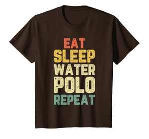 Eat Sleep Water Polo Repeat Gift Vintage T-Shirt