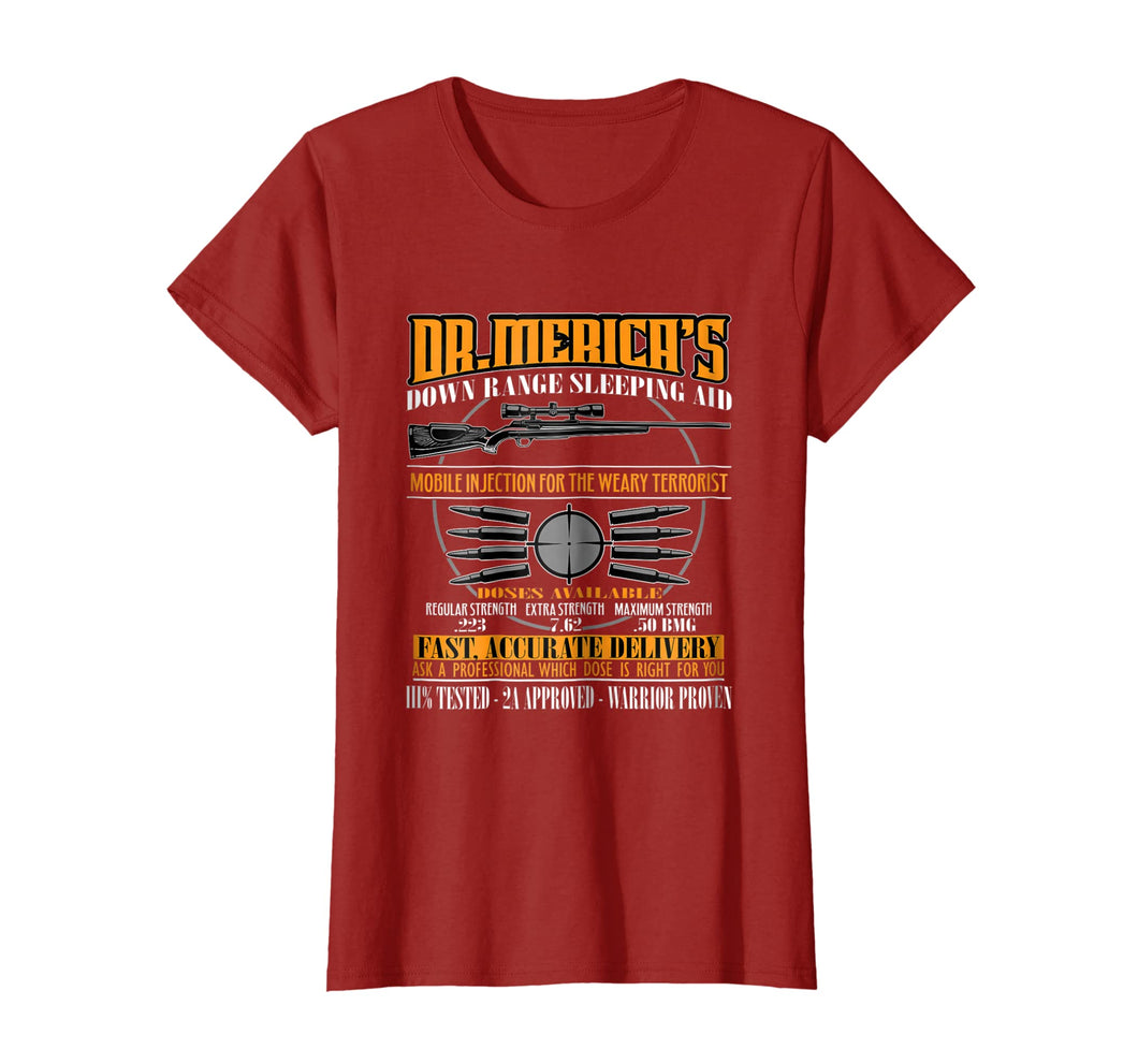 Dr. Merica American Warrior Patriot Military Gift T-Shirt