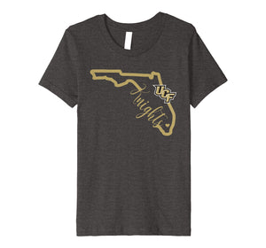 UCF Knights Knight State Map T-Shirt - Apparel