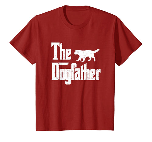 The Dogfather Shirt Dad Dog T-shirt Men, Funny Father's Day