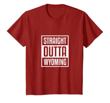 Load image into Gallery viewer, Cool Straight Outta Wyoming Shirt Sheriff Wild West Country