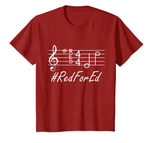 Load image into Gallery viewer, #ReForEd Music Teachers Red For ED Shirt Walkout Protest