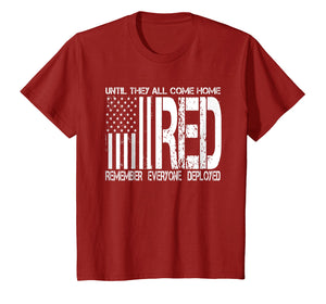 Remember Everyone Deployed Shirt Red Friday T-Shirt