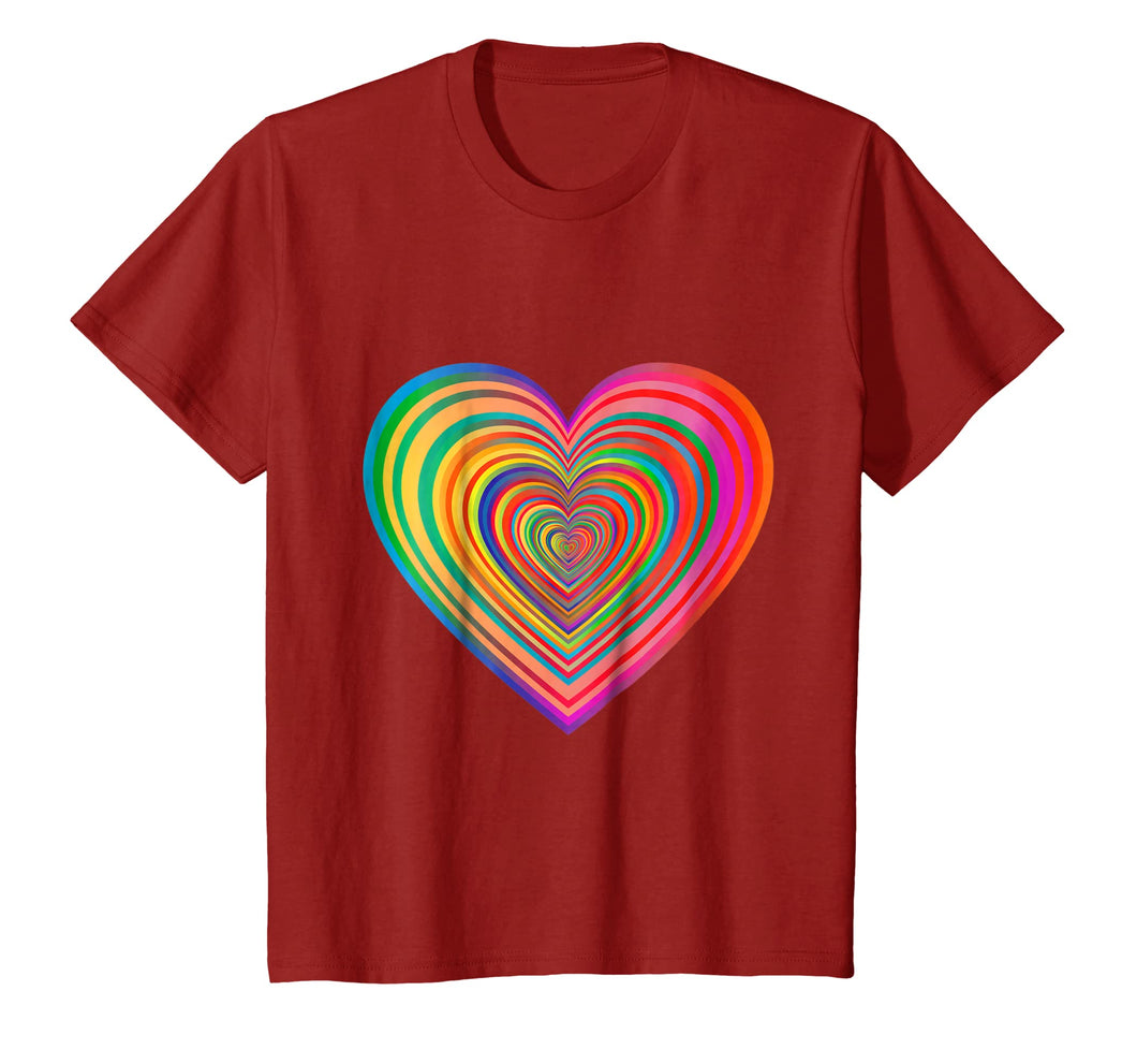 (You Have A) Beautiful Rainbow Heart T-Shirt