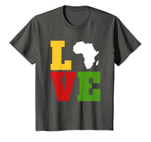 Load image into Gallery viewer, Africa Love Shirt, Afrocentric T Shirts, African Art Gifts