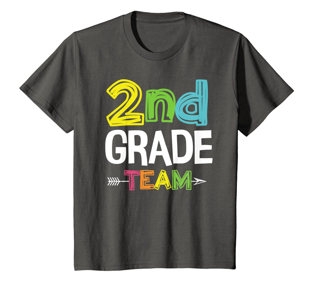 Team Second Grade Squad Shirt Back To School Gifts