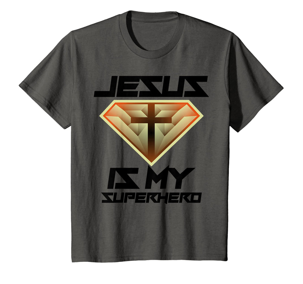 Jesus Is My Superhero Shirt | Cute Powerful Christian Gift