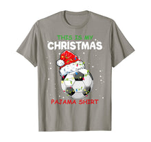 Load image into Gallery viewer, This Is My Christmas Pajama Soccer Christmas Gifts T-Shirt