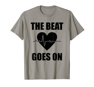 Open Heart Surgery T Shirt Funny Survivor Post Recovery Gift