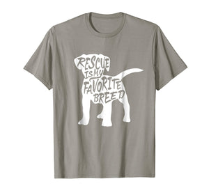 Rescue Dog T-shirt (rescue animals shirt)
