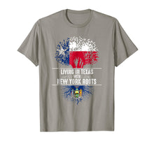 Load image into Gallery viewer, Texas Home New York Roots State Tree Flag Shirt Love Gift