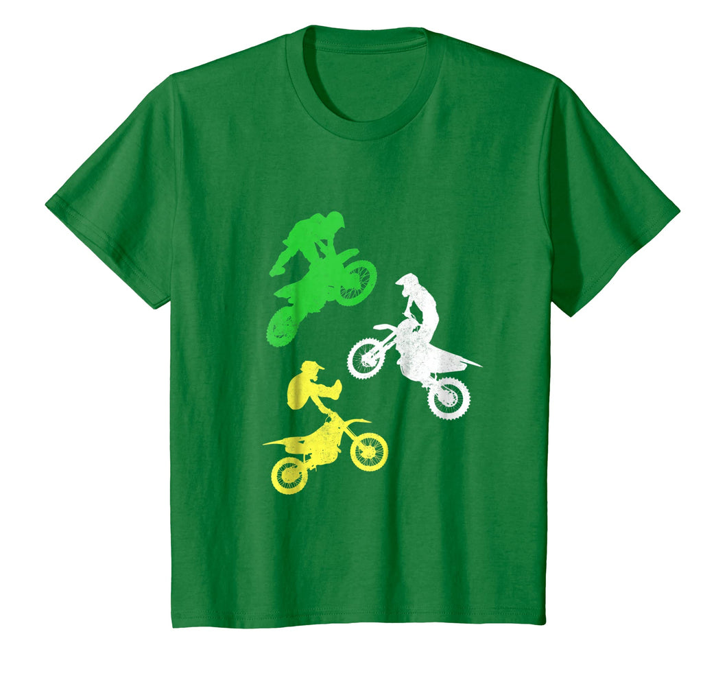 Kids Dirt Bike Shirt for Boys & Toddler Gift Motocross Tshirt